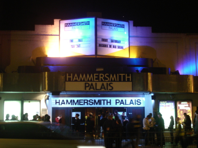 Hammersmith Palais, 1. april 2007