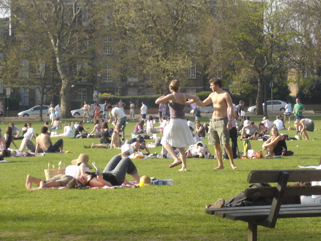 Highbury Fields, 15. april 2007