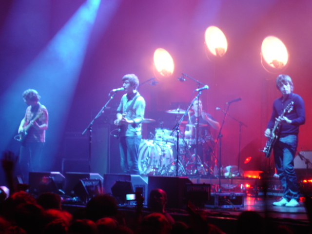 Arctic Monkeys, 3. julij 2007, Pariz