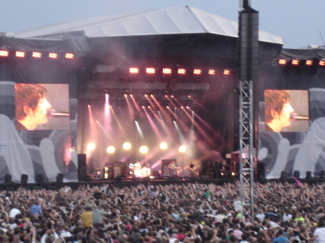Arctic Monkeys, LCCC, Old Trafford, 28. julija 2007